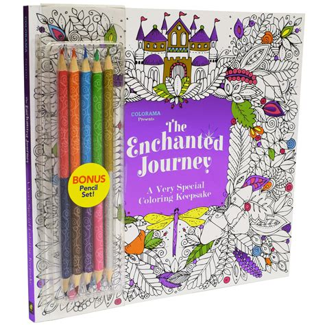 as seen on tv colorama enchanted journey coloring book