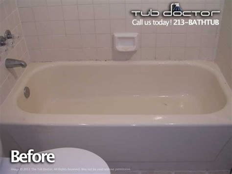 reglaze sink orange county before after gallery tub reglazing bathtub refinishing