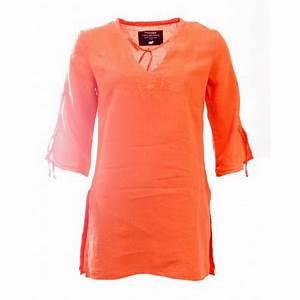 Pancho Vetement Femme : tunique orange femme ~ Preciouscoupons.com Idées de Décoration