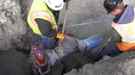 dietrich idaho water project    lay pipe pour
