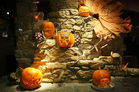 Jolly Pumpkin Menu by A Frightful Halloween In London Elite Traveler