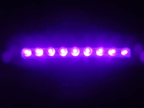 Diy12v Purple Led Lighting Light Bar For Snake Lizard Ebay