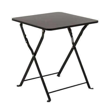 table d appoint table d appoint pliante nindiri noir meuble d appoint