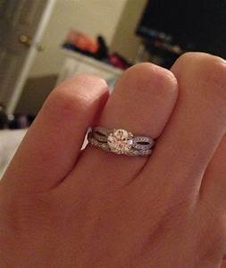 wedding band suggestions experiences with twisted e rings With twisted engagement ring with wedding band