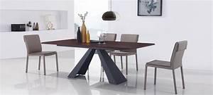 Table à Manger Design : tables manger bois et m tal prix fous ~ Teatrodelosmanantiales.com Idées de Décoration