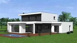 Maison Moderne Toit Plat : architecture maison moderne toit plat ventana blog ~ Nature-et-papiers.com Idées de Décoration