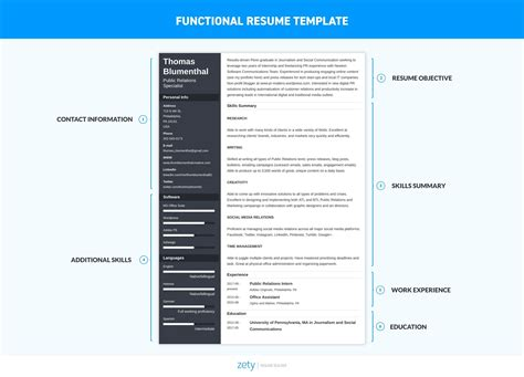 functional resume template exles complete guide