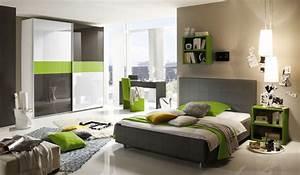 schlafzimmer jugendzimmer anthrazit grun hochglanz lack With markise balkon mit lack tapete