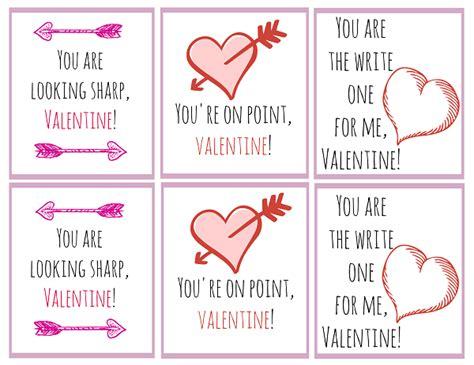 Printable Valentine Day Card Saying