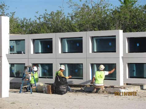 precast concrete wall systems  pre installed windows