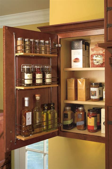 Wall Easy Access Storage Cabinet   Kemper Cabinetry