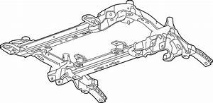 Cadillac Ats Suspension Subframe Crossmember  Front
