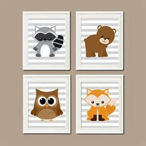 woodland nursery decor woodland animals woodland