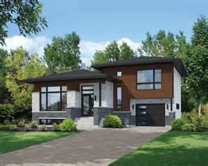 photo of split level modular homes ideas split level contemporary house plan 80789pm 1st floor