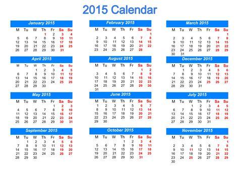 2015 Printable Calendars Printable 2015 Calendar
