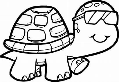 Turtle Coloring Pages Detailed Sea Printable Realistic