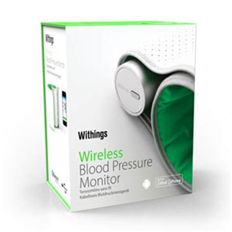 Amazon.com: Withings Wireless Blood Pressure Monitor for