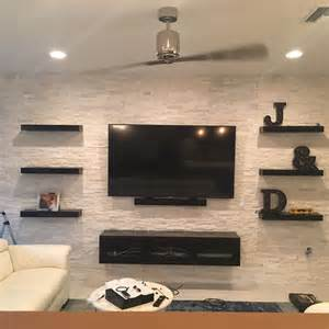home interior tv cabinet best 25 floating tv stand ideas on tv wall