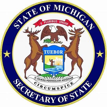 Michigan Secretary State Seal Mi Department Gov