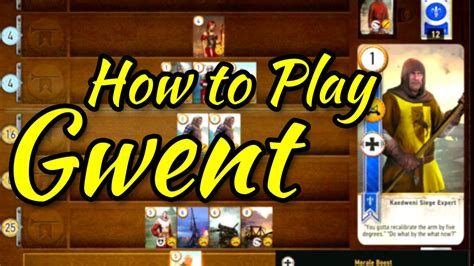 Witcher 3 How To Play Gwent Youtube