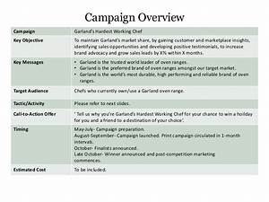 garland marketing campaign brief With marketing campaign brief template