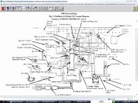 Vacuum Diagram For Four Cylinder Two Wheel Drive