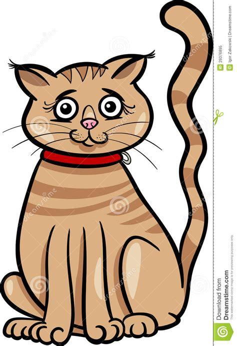 Female Cat Cartoon Illustration Royalty Free Stock Photo