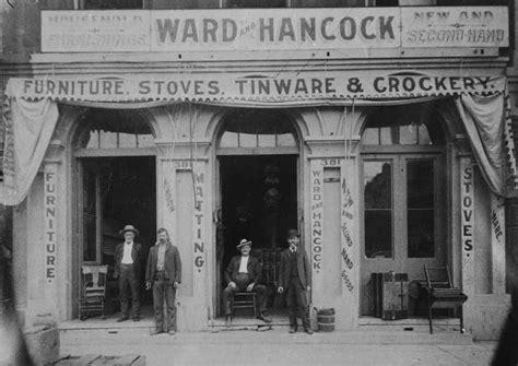 city of san bernardino ward and hancock furniture store
