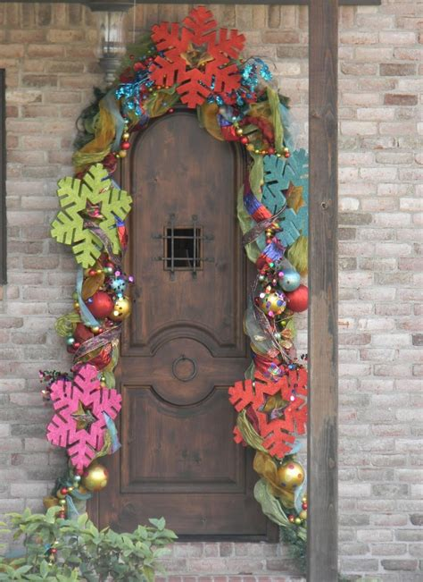 fantastic christmas door decorating ideas interior vogue