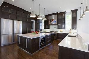 55 kitchen designs with contemporary style page 5 of 11 With luxurious touch applying a modern kitchen cabinets