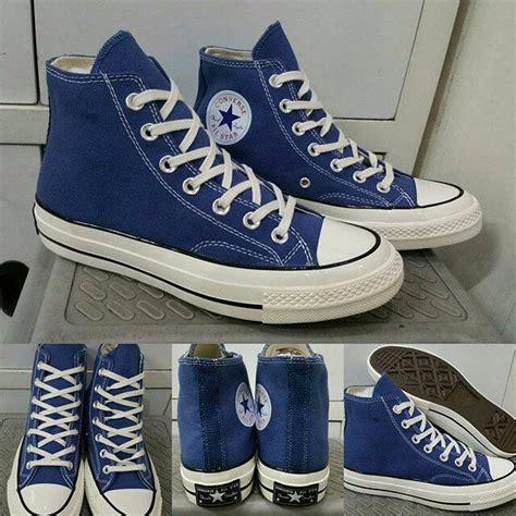 sepatu converse canvas navy jual sepatu kets converse allstar 70s canvas high navy