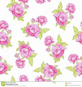 Rose Seamless Background Royalty Free Stock Photography ...