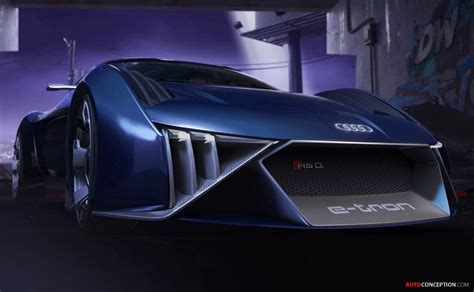 audi designs  concept car   animated film