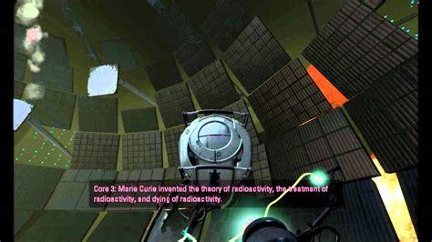 Portal 2 Personality Core 02 Fact Core Youtube