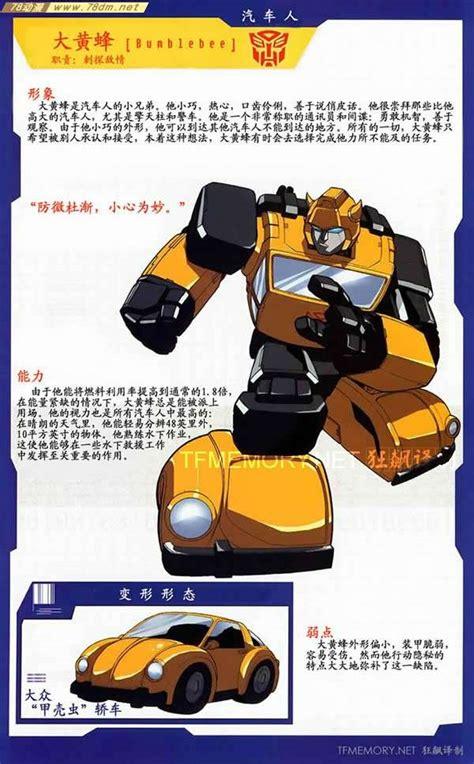 Pictures Of Bumble Bee Transformer 变形金刚人物资料 Bumblebee大黄蜂 78动漫模型玩具网 变形金刚玩具