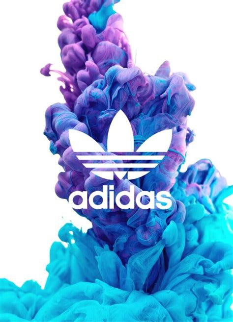 colorful addidas adidas logo wallpaper colorful ink image 4838257 by