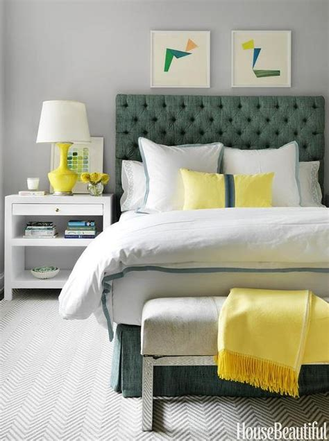 Yellow And Green Bedrooms  Contemporary Bedroom