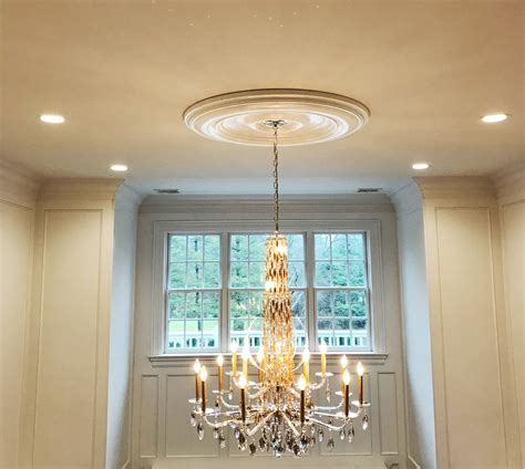 ekena millwork classic ceiling medallion  high ceiling