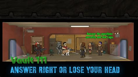 Fallout Shelter Game Show Gauntlet Welcome to Lose