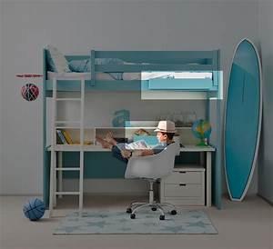 Lit Demi Hauteur : lit semi mezzanine ~ Premium-room.com Idées de Décoration