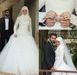Arabic Dubai Muslim Wedding Dresses 2016 Saudi Arabian ...