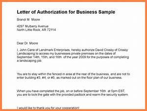 9 company authorization letter sample company letterhead With authorization letter template for business
