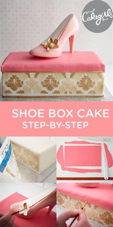 wedding cakes shoe box cake step by step tutorial