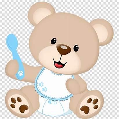Bear Clipart Shower Teddy Ursinho Transparent Ursinha