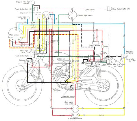 Yamaha At1 Wiring Diagram by Yamaha Wiring Schematics Carburetor Diagrams
