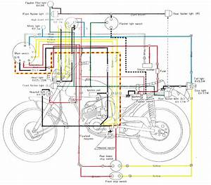 Yamaha Wiring Schematics  U0026 Carburetor Diagrams