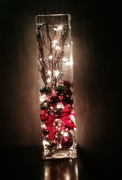 homemade christmas decor   left  lights