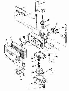 Craftsman Plastic Carburetor Diagram