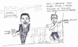 Nobel peace By vatsan34   Famous People Cartoon   TOONPOOL