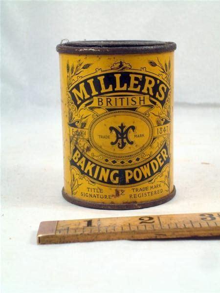 baking powder for sale shop stuff food tin millers baking